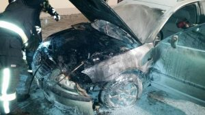 26.3.2016-Požar osebnega vozila