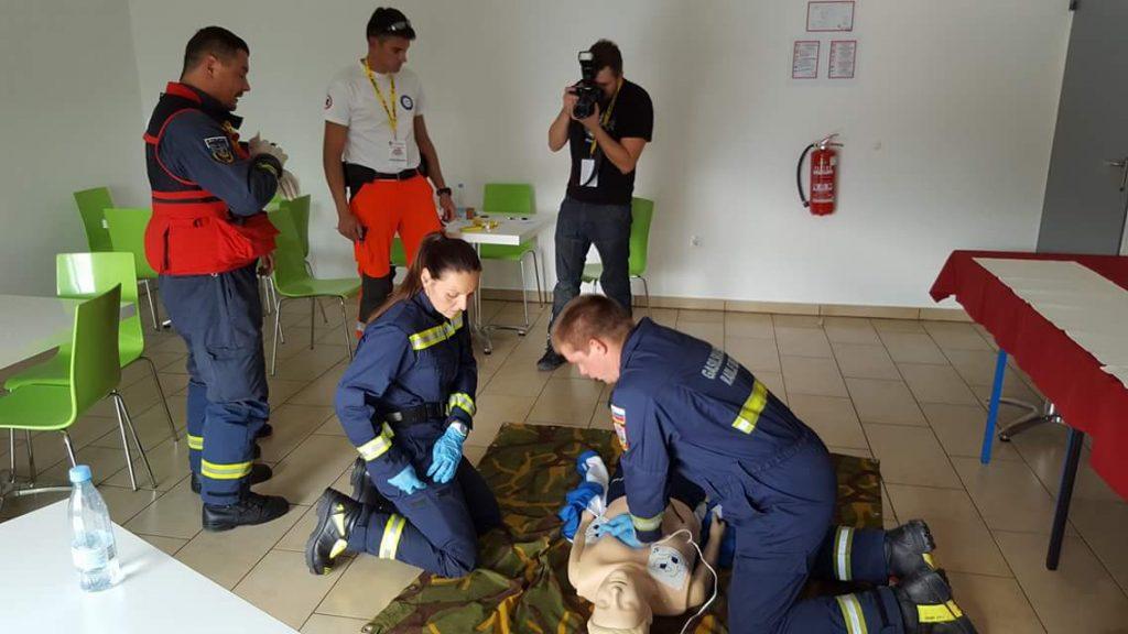 30.9.2016 – 1. preverjanje ekip gasilcev prvih posredovalcev