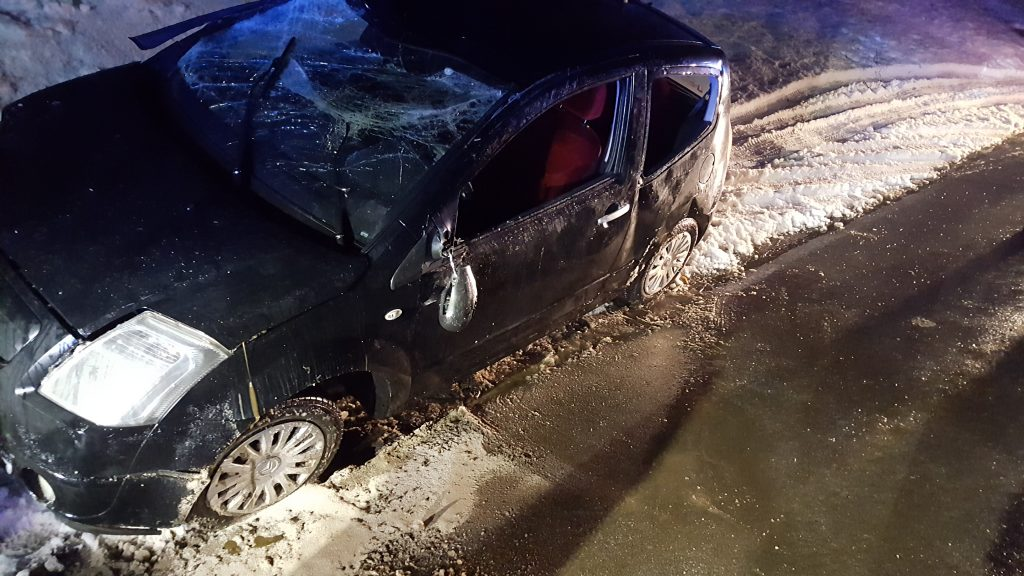 1.2.2017 – Prometna nesreča