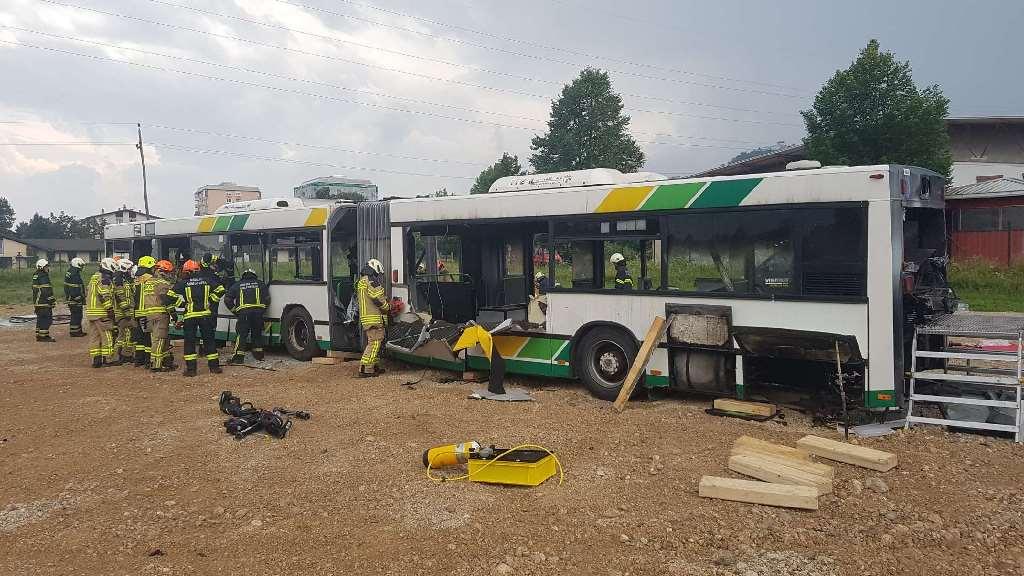 16.6.2017 – Usposabljanje za posredovanje ob prometnih nesrečah avtobusa