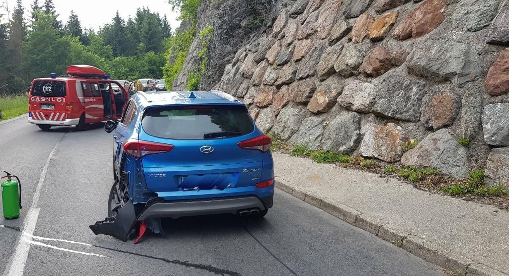 4.6.2018 – Prometna nesreča