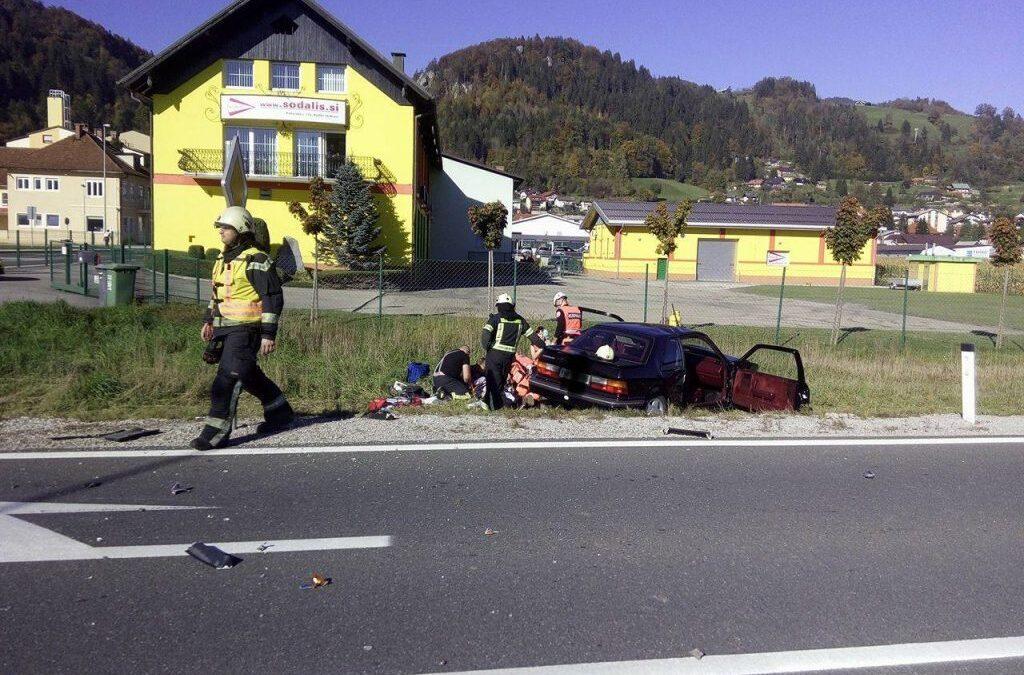 16.10.2017 – Prometna nesreča