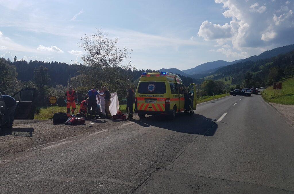 9.9.2018 – Prometna nesreča