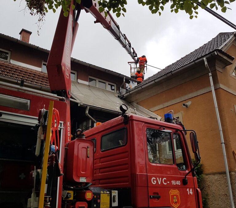 29.5.2019 – Prekrivanja strehe in nudenje pomoči NMP in HNMP