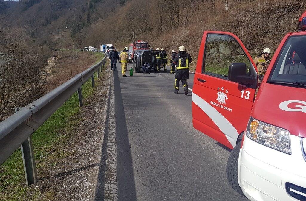 3.4.2018 – Prometna nesreča