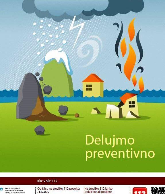 Oktober je mesec varstva pred požari