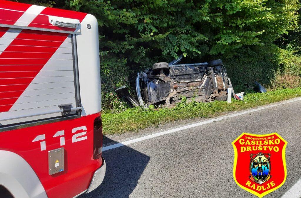 13.9.2021 – Prometna nesreča