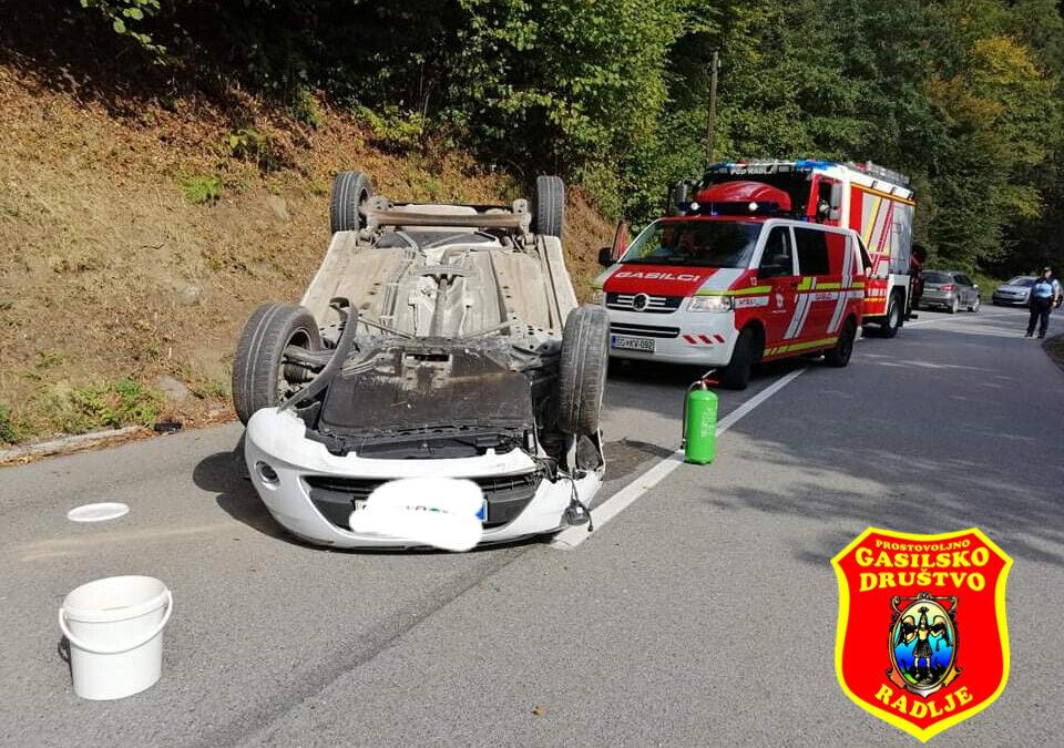 28.9.2021 –  Prometna nesreča