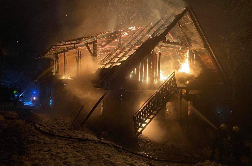 3.1.2021 – Požar stanovanjskega objekta