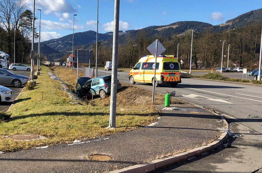 14.1.2019 – Prometna nesreča