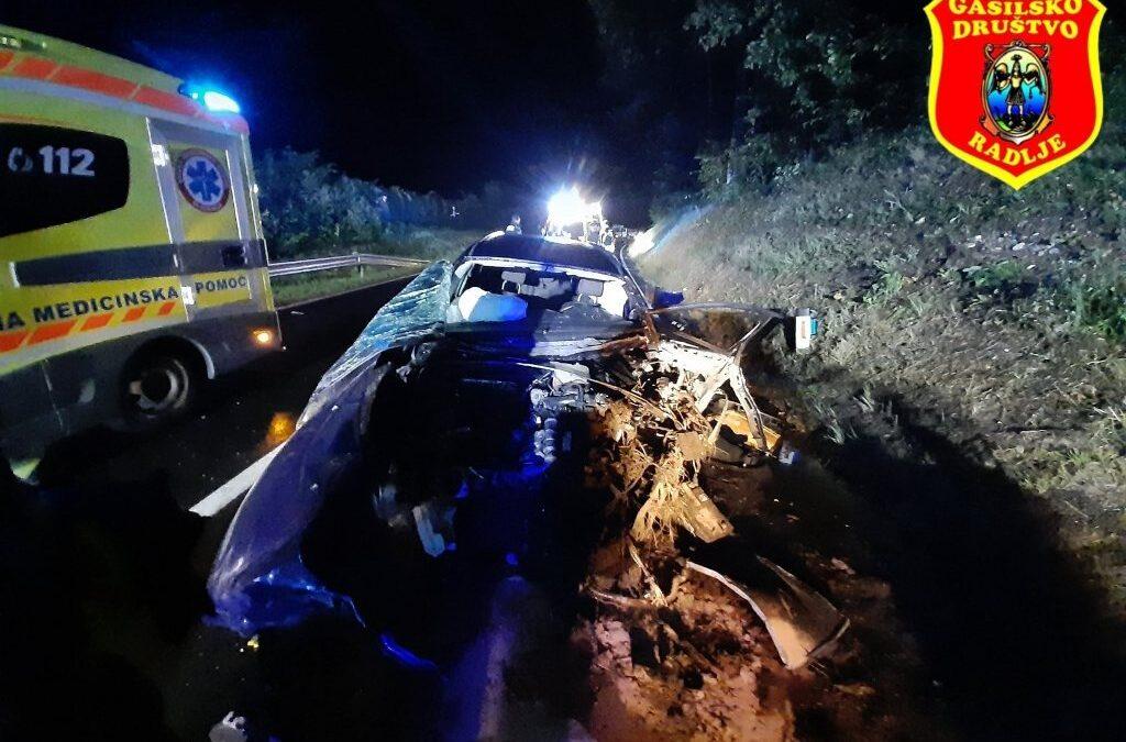 25.9.2020 – Prometna nesreča