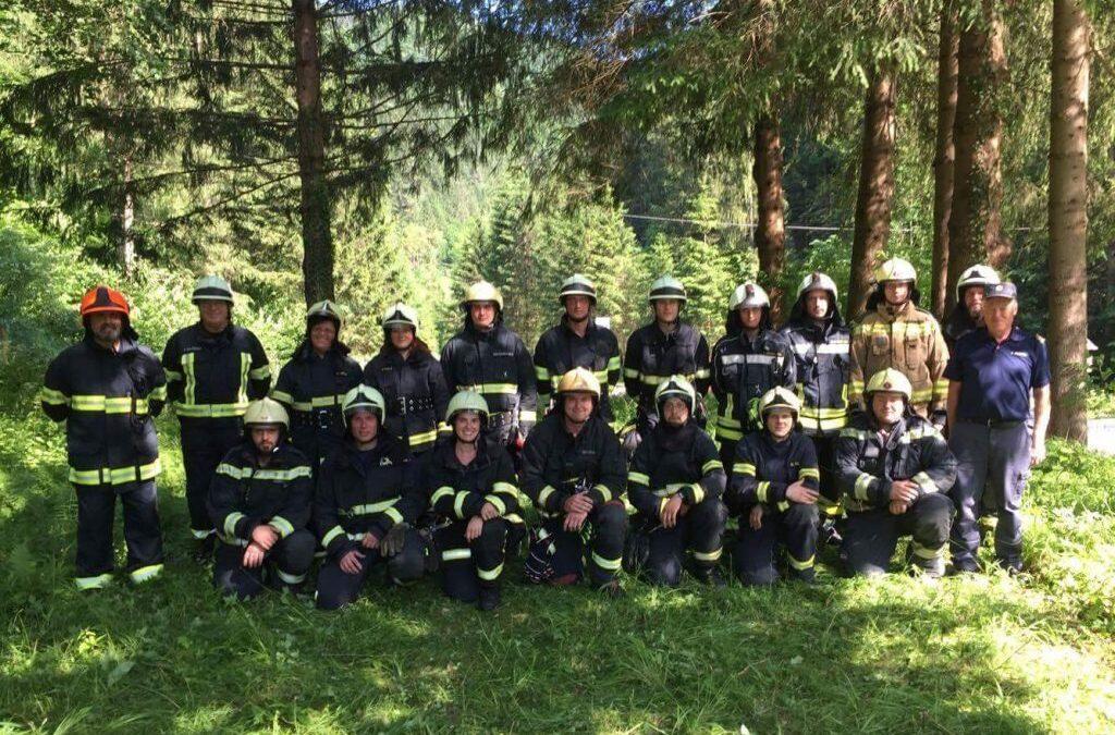 Tečaj za višjega gasilca